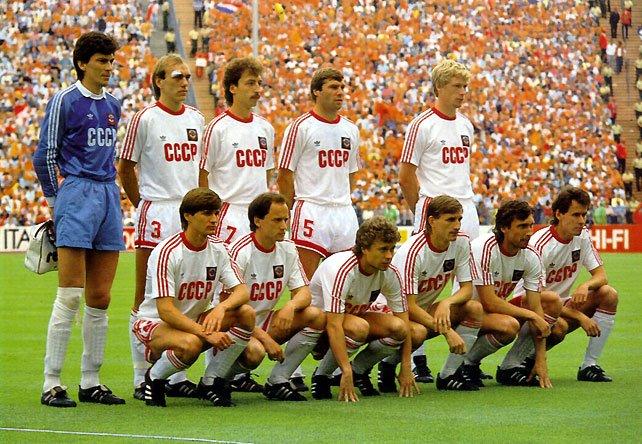 разместить че 1988 по футболу стосується пори